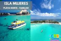 Isla Mujeres con Playa Norte